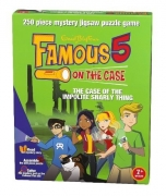 Famous 5 on The Case 'Impolite Snarly Thing' Mystery 250 Piece Jigsaw Puzzle Game