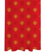 Manchester United Fc Football Official 66 X 72 inch Drop Curtain Pair