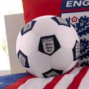England Football Fc Shaped Cushion Official