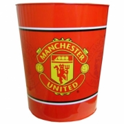 Manchester United Fc Football Waste Bin Official