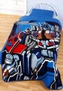 Transformers Panel Fleece Blanket Throw