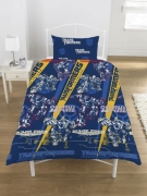 Transformers Flare Rotary Single Bed Duvet Quilt Cover Set