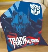 Transformers Movie Panel Fleece Blanket Throw