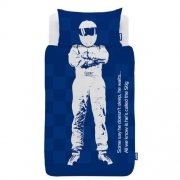Top Gear The Stig Panel Single Bed Duvet Quilt Cover Set