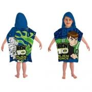 Ben 10 Alien Force Poncho Towel