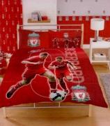 Liverpool Steven Gerrard Fc Football Panel Official Double Bed Duvet Quilt Cover Set