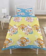 Waybuloo Rotary Single Bed Duvet Quilt Cover Set