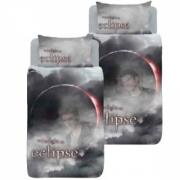 Twilight Eclipse Reversible Panel Single Bed Duvet Quilt Cover Set