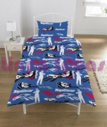 Top Gear Tested Rotary Single Bed Duvet Quilt Cover Set