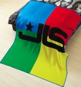 Jls Multi Panel Fleece Blanket Throw