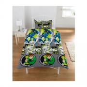 Ben 10 'Ultimatrix' Rotary Single Bed Duvet Quilt Cover Set
