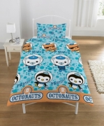Octonauts 'Barnacles' Rotary Single Bed Duvet Quilt Cover Set
