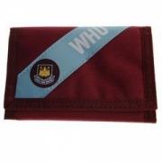 West Ham Stripe Fc Football Official Wallet