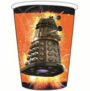 Doctor Who 8 Pack Hot & Cold 260ml Cups Party Accessories