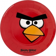 Angry Birds 8 Pack Plates Party Accessories