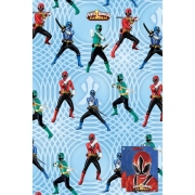 Power Rangers Samurai Gift Wrap Decoration