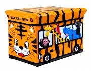 Kids Storage Seat 'Jungle Safari' Box