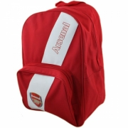 Arsenal Fc Stripe Football Official Backpack