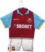West Ham Fc Football Car Mirror Mini Kit Official Decoration