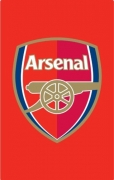 Arsenal Fc Crest Football Official Rug
