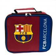 Barcelona Fc 'Wordmark' Football Premium Lunch Bag Official