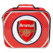 Arsenal Fc 'Bullseye' Football Premium Lunch Bag Official