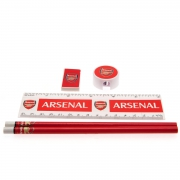 Arsenal Fc 'Core' Stationery Set Football Official