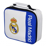 Real Madrid Fc 'Wordmark' Football Premium Lunch Bag Official