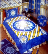 Leeds United Afc Football Panel Official Single Bed Duvet Quilt Cover Set