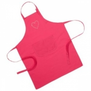 Brands Crystal Heart Pink Adult Apron