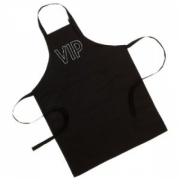 Brands Vip Black Adult Apron
