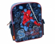 Spiderman Web Swing School Bag Rucksack Backpack