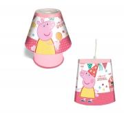 Peppa Pig 'Fun Fair' 2 Pack Kool Lamp and Tapered Shade