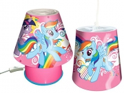 My Little Pony 'Friends' 2 Pack Set Kool Lamp and Tapered Shade