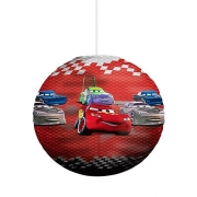 Disney Cars Green Paper Shade Lighting