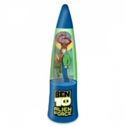 Ben 10 Alien Force Glitter Lamp