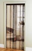 Multi Cream 'String' Door Curtain