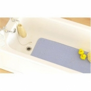 Blue Cushion with Suction Cups Mat Bath