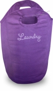 Purple Diamante Laundry Bag Bath