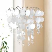 Urban Life Easy Fit 'Chic White' Chandelier