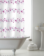 'Confetti' Hookless Without Hook Shower Curtain