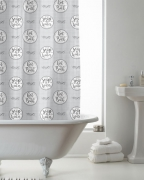 Fresh with Hook Shower Curtain