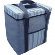 Alfresco Insulated Large 12l Cooler Bag Demin Lunch Box