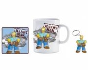 The Simpsons 11oz Mug, Coaster and Keyring Mug