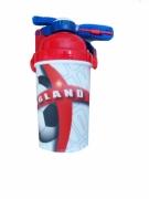 England Fc Football Flip Top Flask Bottle Official