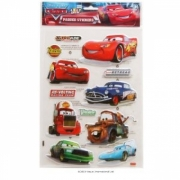 Disney Cars Padded Sticker Wall Decoration