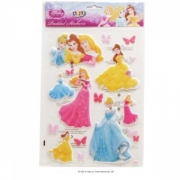 Disney Princess Padded Sticker Wall Decoration