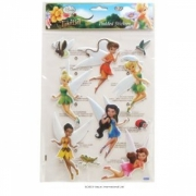 Disney Fairies Padded Sticker Wall Decoration