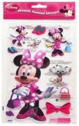 Disney Minnie Mouse Padded Sticker Wall Decoration