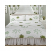 Fantazia Green Half Set Bedding Single Duvet Cover